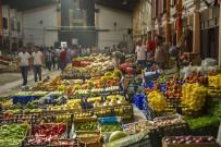 TOPTANCI HALİ - Başkentliler Nisan Ayında Toplam 160 Bin Ton Sebze Ve Meyve Tüketti
