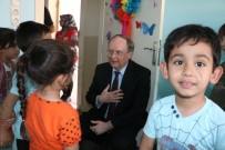 TOPLUM MERKEZİ - Büyükelçi Berger'den Kızılay Toplum Merkezi'ne Ziyaret
