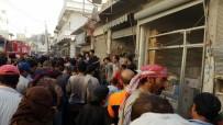 UZAKTAN KUMANDA - El Bab'da Patlama Açıklaması 4 Yaralı