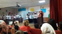 KELOĞLAN - Gazipaşa İlköğretim Öğrencileri Keloğlan Ve Köylüler'le Eğlendi