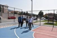 TÜRKAN SAYLAN - Gençler İçin Spor Alanları Yapılıyor