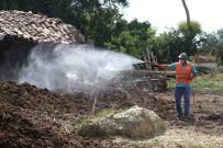 HAYVAN - Germencik Belediyesi Haşerelerle Mücadelede Hız Kesmiyor