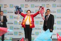 İYİ Parti Genel Başkanı Akşener Karaman'da