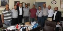 GÖKHAN KARAÇOBAN - İYİ Partili Karaçoban Berber Ve Kuaför Esnafının Sorunlarını Dinledi