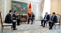 BÜYÜKELÇİLER - Kırgızistan Cumhurbaşkanı Büyükelçilerin Güven Mektuplarını Kabul Etti