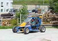 ARAZİ ARACI - Lise Öğrencisi Hurdadan Topladığı Malzemelerle Araba Yaptı