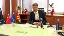 HALKBANK - 'Makedonya İle Türkiye Arasında Köprü Olmak İçin Buradayız'
