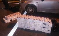 KAÇAK SİGARA - Otobüste Kaçak Sigara Sevkiyatı