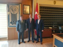 HALIL ETYEMEZ - Öz Taşıma-İş Sendikası Genel Başkanı Toruntay Konya'daki Üyeleriyle İftarda Buluştu