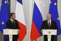 BASIN TOPLANTISI - Putin Ve Macron'dan Ortak Basın Toplantısı