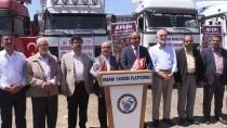 ŞANLIURFA - Şanlıurfa'dan Afrin'e İnsani Yardım