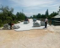 TARAŞÇı - Seydişehir Belediyesi Parke Taş Çalışmalarına Devam Ediyor