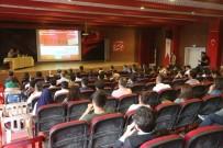 Silopi'de Madde Bağımlılığı Konferansı Verildi