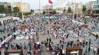 ORHAN GENCEBAY - Taksim Meydanı'ndaki Dev İftar Havadan Görüntülendi