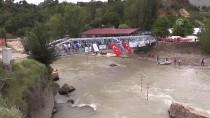 MUNZUR ÇAYı - Türkiye Rafting Şampiyonası 2. Ayak Yarışları Başladı