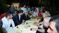 TEMEL ATMA TÖRENİ - Üzülmez Ve Karaosmanoğlu Vatandaşlarla Beraber