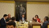 Vali Elban Şehit Aileleri Ve Gazilerle İftar Yaptı