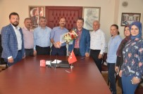 AK Parti Manisa Milletvekili Adayı Özkan Sahaya İndi