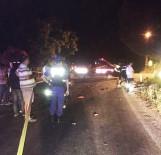 MOTOSİKLET SÜRÜCÜSÜ - Alkollü Sürücü Dehşeti Açıklaması 1 Ölü, 1 Ağır Yaralı