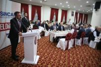 TERAVIH NAMAZı - Başkan Ercan Ağrılılar Derneğinin İftar Yemeğine Katıldı