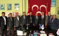HıRISTIYAN - Başkan Gülbey, MHP Gevaş Başkanı Altıntaş'ı Ziyaret Etti