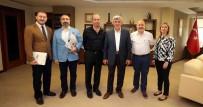 KÜTÜPHANE - Başkan Karaosmanoğlu, Kandıra Lisesi Mezunlar Derneği'ni Ağırladı