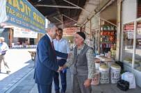 MİNİBÜSÇÜ - Başkan Polat Minibüs Esnafı İle Bir Araya Geldi