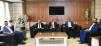 ORTAK AKIL - Başkan Polat'tan MTSO'ya Ziyaret