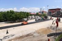 İÇME SUYU - Belediye Meydanında Birinci Kat Asfalt Kaplama Çalışmaları Başladı