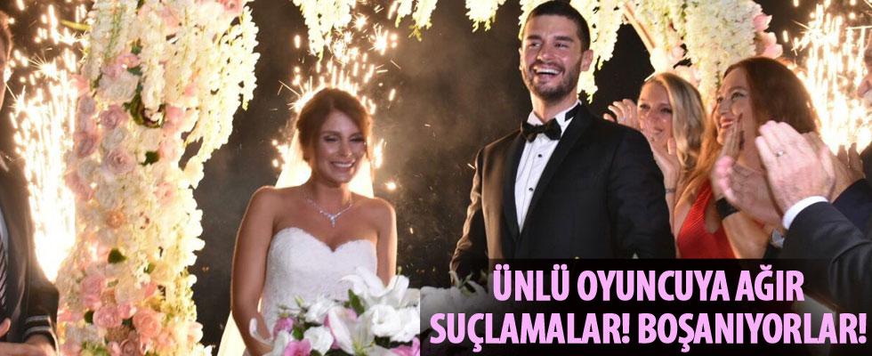 Berk Oktay ile Merve Şarapçıoğlu boşanıyor