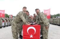 HASAN ŞıLDAK - Burdur'da 371. Kısa Dönem Acemi Erler Yemin Etti