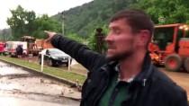Bursa'da Sağanak Ve Sel Yol Kapattı