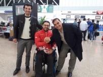 MECLIS BAŞKANı - Dünya Şampiyonu Milli Sporcu Avrupa Şampiyonasına Uğurlandı