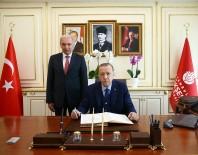 İSMAIL KAHRAMAN - Erdoğan'dan İBB'ye Ziyaret