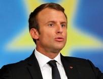 EMMANUEL MACRON - Fransasız sendikacılar Macron'un elektriğini kesti