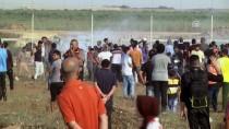 GÖZ YAŞARTICI GAZ - Gazze Sınırında Yaralananların Sayısı 109'A Yükseldi
