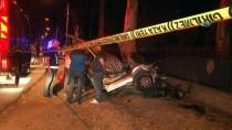 TİCARİ ARAÇ - (GÜNCELLEME) Kontrolden Çıkan Araç İki Bisiklet Sürücüsüne Çarptı Açıklaması 2 Ölü, 1 Yaralı