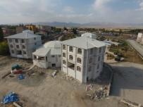 TERMAL TURİZM - Ilıca'da Kültür Merkezi Ve Belediye Binası İnşaatında Son Rötuşlar