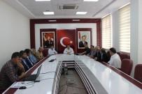 AHMET GAZI KAYA - Kahta'da Seçim Güvenliği Toplantısı Yapıldı