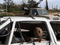 BINGAZI - Libya'da bombalı saldırı
