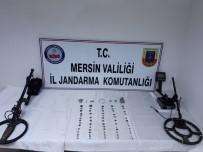 KAÇAK - Mersin'de Tarihi Eser Kaçakçısı Yakalandı