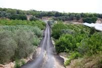 KARACAOĞLAN - Mersin'de Yol Çalışmaları Sürüyor