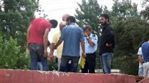 SPOR AYAKKABI - Metruk Binanın Çatısında 1 Haftalık Erkek Cesedi