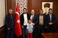 KONURSU - Milli Futbolcu Hakan Çalhanoğlu Memleketi Bayburt'ta