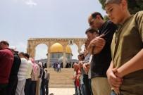 MÜSLÜMAN - Ramazan'ın İkinci Cuma Namazında Mescid-İ Aksa Hınca Hınç Doldu