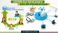 SU TAŞKINI - Seydişehir Belediyesi E-İmza Uygulamasına Geçti