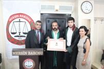 YEMİN TÖRENİ - Stajyer Avukat, Cübbe Giydi