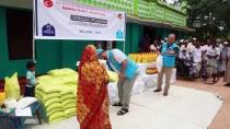 SRI LANKA - TDV Sri Lanka'da 5 Bin Gıda Paketi Dağıttı