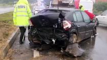 NAMIK KEMAL - Tekirdağ'da Trafik Kazası Açıklaması 3 Yaralı