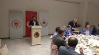 İLHAMI AKTAŞ - Vali Aktaş, NTSO'nun İftar Yemeğine Katıldı